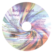 Birth of Light CD Label
